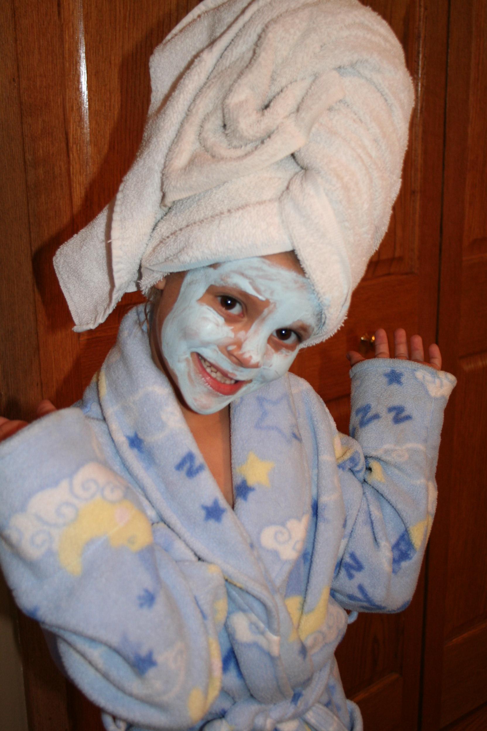 Kids Spa Mask Diy