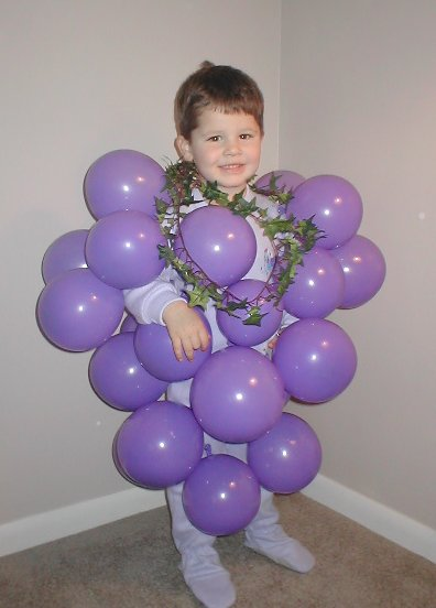 Homemade Halloween Costume Idea Bunch of Grapes  sc 1 st  Mommysavers : grape costumes  - Germanpascual.Com