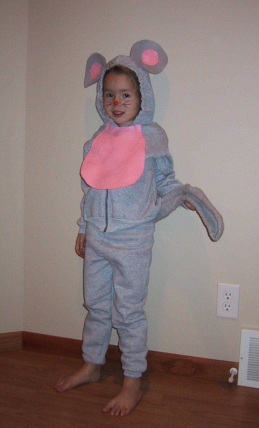 Homemade Costume Idea Mouse  sc 1 st  Mommysavers & Homemade Costume Idea: Mouse - Mommysavers | Mommysavers